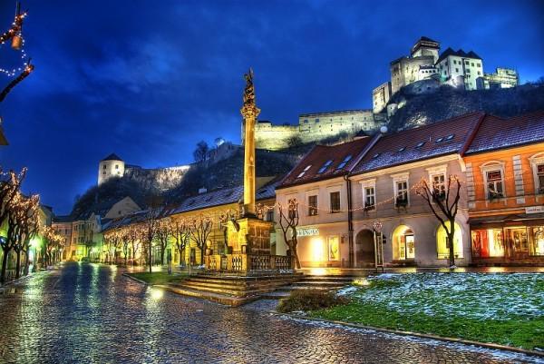 スロバキアの街並み