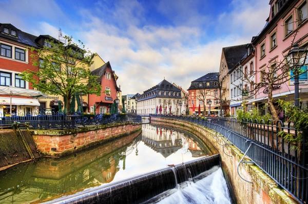 スイスの街並み