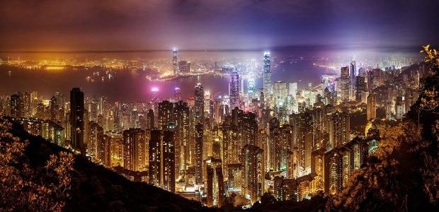 【香港】色鮮やかなネオンや夜景が輝く眠らない街